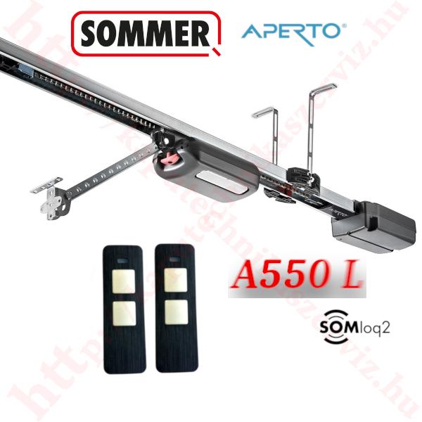 Sommer Aperto A550 L garázskapunyitó szett - kaputechnikaszerviz.hu