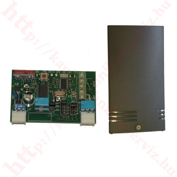 Ditec BIX R2 külső vevőegység Cont 1 dobozzal - kaputechnikaszerviz.hu