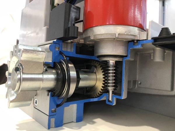 Ditec NEOS 600 SuperFAST elektromos kapunyitó motor mechanika - kaputechnikaszerviz.hu