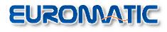 Euromatic kapunyitó logó
