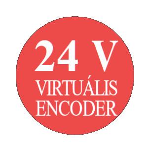 Ditec 24Voltos virtuális enkóder