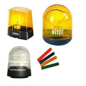 Villogók (Kapunyitó működés jelző lámpa)