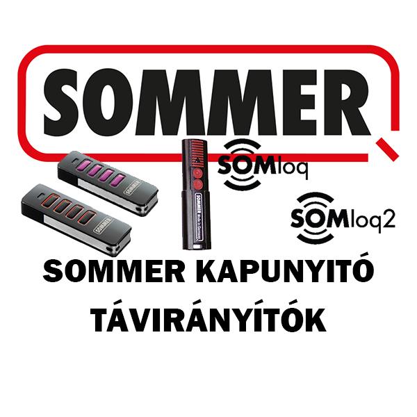 Sommer kapunyitó távirányítók
