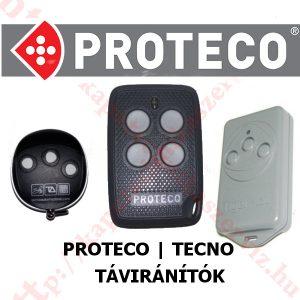 Proteco és tecno kapunyitó távirányítók