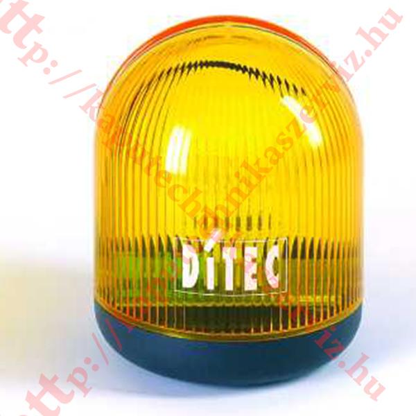 Ditec LAMP 230V kapunyitó villogó lámpa - kaputechnikaszerviz.hu
