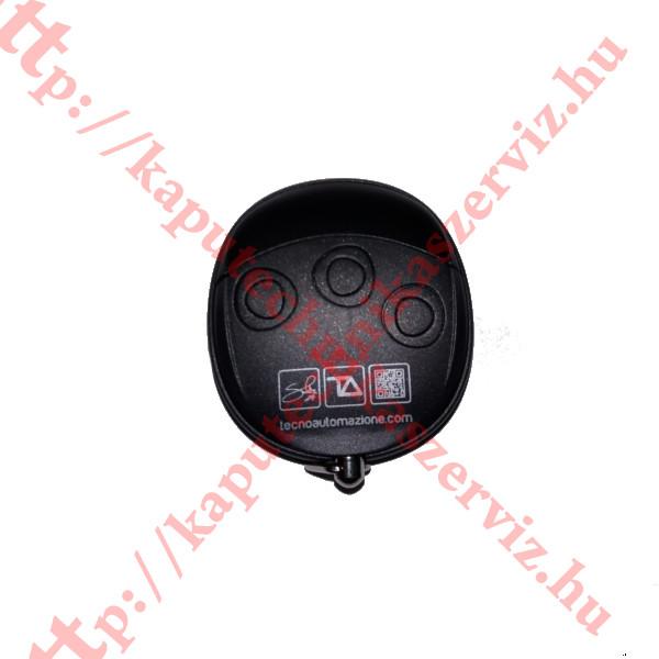 Proteco, Tecno Wally TLCWX5T fekete-fekete kapunyitó távirányító - kaputechnikaszerviz.hu